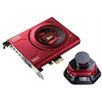 Creative Sound Blaster ZX SBX PCIE Gaming Sound Card with Audio Control Module