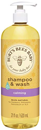 Burt's Bees Baby Shampoo & Wash Calming for Kids, 21 Ounce