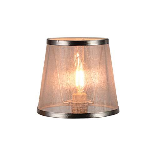 DULEE 6 inch handgemaakte E14 houder ring lampenkap kaars lampenkap kleine lampenkap kroonluchter lampenkap