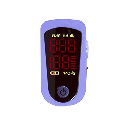 Mobiclinic, MD300C13, Pulsioxímetro de dedo, Oxímetro de pulso, Oxímetro dedo digital, Pulsómetro con pantalla LED, Frecuencia cardíaca, Medición SpO2, Medición saturación de oxígeno en sangre ⭐