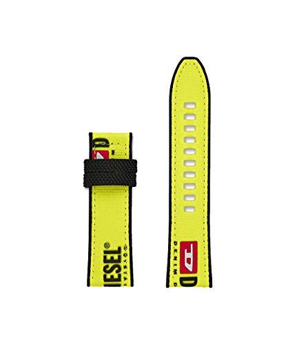 Diesel Herren Full Guard 2,5-24 mm gelbes Nylonband für Herren DZT0013