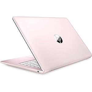2021 HP Stream 14″ HD Thin and Light Laptop, Intel Celeron N4000 Processor, 4GB RAM, 64GB eMMC, HDMI, Webcam, WiFi, Bluetooth, 1 Year Office 365, Windows 10 S, Rose Pink, W/ IFT Accessories