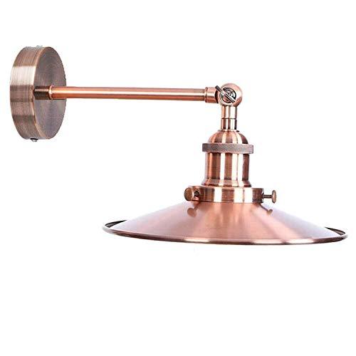 Lámpara de pared estilo vintage (cobre)