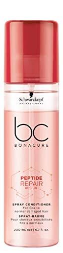 Schwarzkopf - Après-shampoing Professional BONACURE Peptide Repair Rescue - 200 ml
