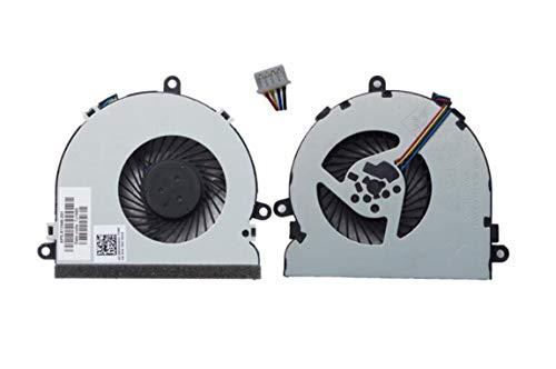 HuiHan Repuesto para ventilador de refrigeración de CPU HP 15-BS015dx 15-BS016dx 15-BS091ms serie 15-BS095ms