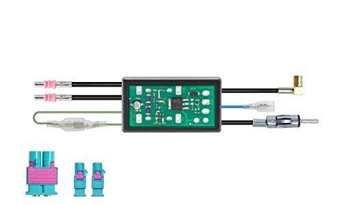 DAB+ Splitter und FM Phase Antennen-Diversity mit Phantomeinspeisung