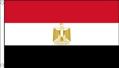 1.52 x meters 0.91 meters (150 cm x 90 cm) und Ägypten Ägyptische 100% Polyester, Material Fahne Flagge Banner, Ideal für Pub, Club, Schulfest Business Party-Dekoration