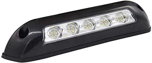GYC Black Awning LED Lighting Porch for Marine/Yacht/Boats/RV/Travel Trailer