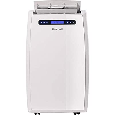 Honeywell, MN14CHCSWW Portable Air Conditioner with Heat Pump, Dehumidifier & Fan Cools & Heats Rooms Up to 450-550 Sq. Ft. with Remote Control, White