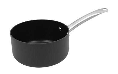 OGO LIVING - Daily Chef - Casserole 20 cm Tous Feux Dont Induction, Aluminium forgé, Noir
