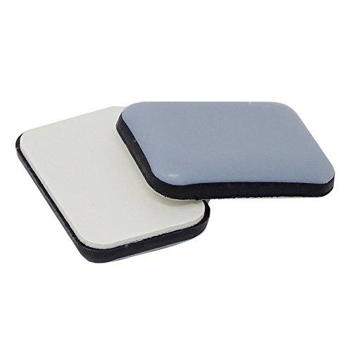 SBS Teflongleiter | ø 35 x 24 mm | 16 Stück | selbstklebend Möbelgleiter PTFE-Gleiter Möbelschutz