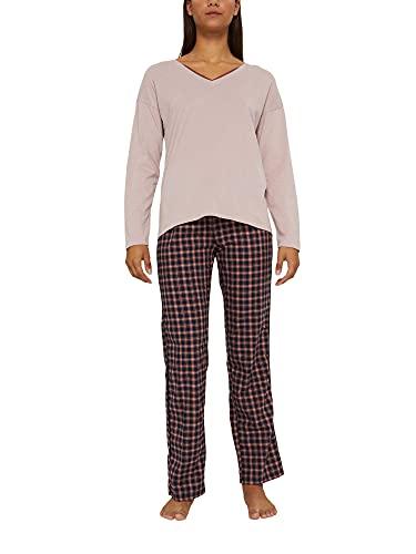 ESPRIT Pyjama aus 100{d49445a441feeb7d9f96a58c09bbbb8ca7b734db420212b619ffb7d82af26fb1} Organic Cotton