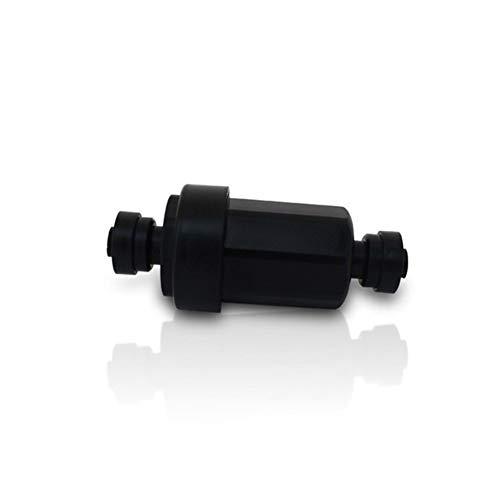 XINXI-YW Conveniente 1/4' Filtro purificador de Agua de riego de jardín Dispositivo del Aerosol Inoxidable Filtro de Acero de Baja presión del Filtro de conexión rápida fijación de Filtro Decorativo
