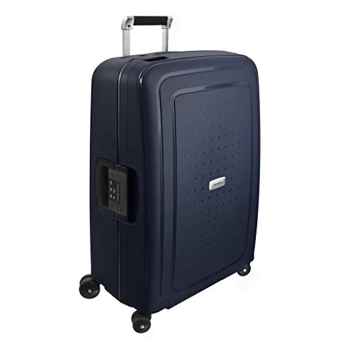 Samsonite S'Cure Dlx Spinner 69/25 Suitcases, 69 cm, 79 L, Blue (Blue)