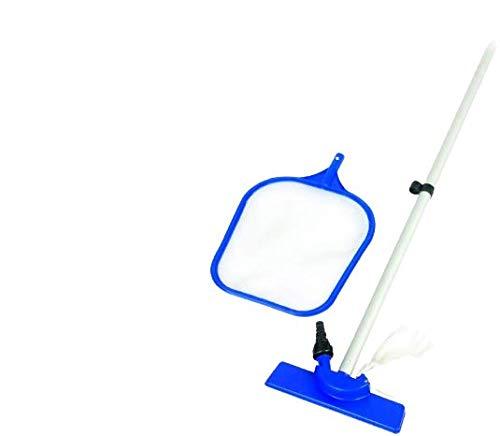 Bestway MWS 58013 Kit de limpieza estándar para piscinas fuera tierra varilla y tamiz