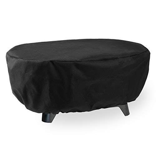 MR.COVER JY410 Grill Cover for Lodge Cast Iron Sportsman's Grill, Waterproof BBQ Cover (UV&Dust&Rip Resistance)