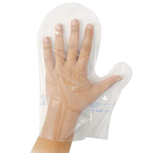 100x Cleanhands Handschuhe, Faustform, Coex PE, 70 My Stärke, ca. 28 cm lang