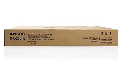 Original Resttonerbehälter passend für Sharp MX-3600 Series Sharp MX230HB , MX-230HB - Premium Tonerbehälter - Farblos