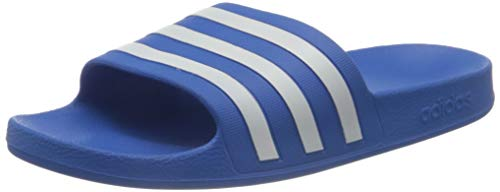 adidas Adilette Aqua, Swim Slides-Ciabatte Unisex-Adulto, Blu (True Blue Ftwr White 000), 40.5 EU