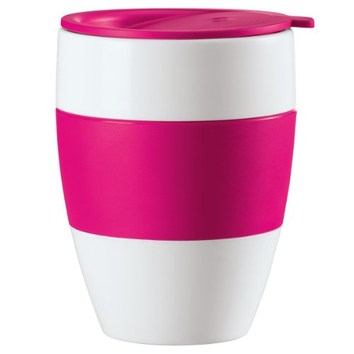 Koziol AROMA pink TO GO Mug isotherme avec couvercle