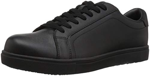 Propet Men's Ozzie Food Service Shoe, Black, 11 E US