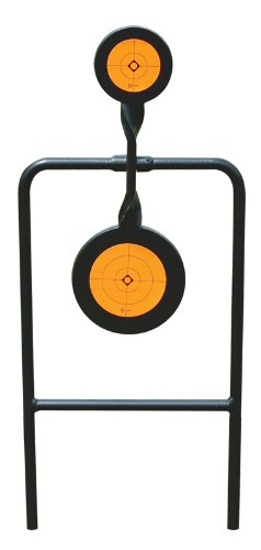 Caldwell Plink n' Swing Double Spin .44 Centerfire Handgun Swinging Target with for Outdoor, Range, Shooting and Hunting