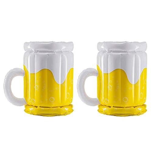 2PCS Gonfiabile Tazza di Birra Galleggiante Row Cooling Benna della Birra estive Parti di Alimentazione