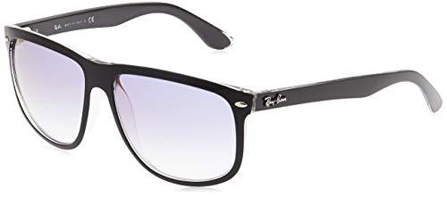 Ray-Ban RB4147-6039X0-60 Gafas, NEGRO TRANSPARENTE, 60 Unisex Adulto