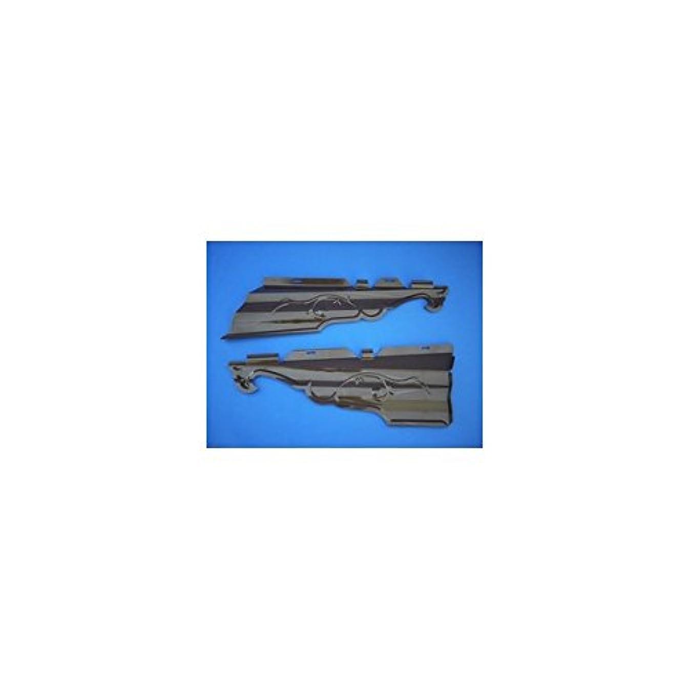 幻想爆風それパナソニック(Panasonic) ハイ丸 内飾り板 新茶90゜ 105、120用左右組 KQ5094