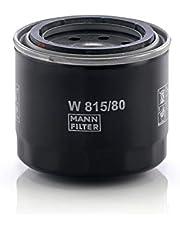 Original MANN-FILTER Filtro de aceite W 815/80 – Para automóviles y vehículos de utilidad