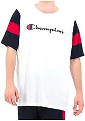 Champion T-Shirt de Manga Corta Blanco para Hombre - 213644