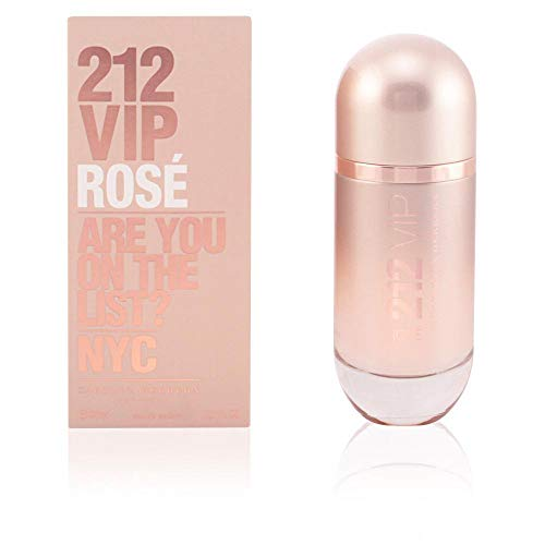 Carolina Herrera 212 Vip Rose Spray for Women, 2.7 Ounce