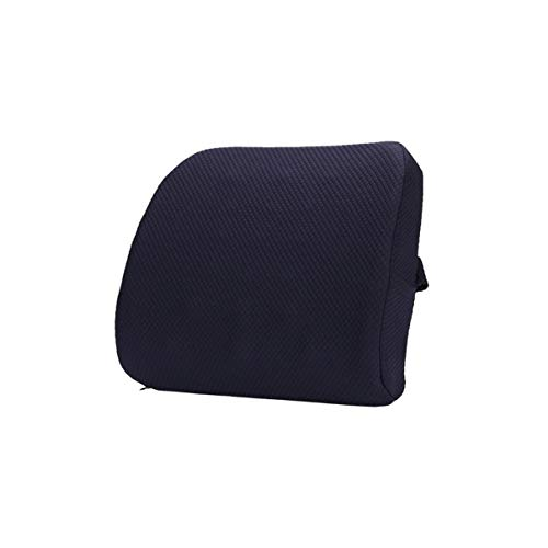 Morninganswer Memory Foam Support Rückenkissen mit 3D-Netz zur Schmerzlinderung im unteren Rückenbereich für Computer-Bürostuhl-Autositz