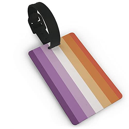 HESMENO Etiqueta de equipaje Cloruro de polivinilo (PVC) Comunidad Orgullo Lesbiano Talla Única 363957848