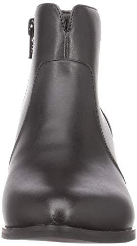 [オリエンタルトラフィック] ブーツ レディース ポインテッドトゥ 美脚 ヒール 大きいサイズ 小さいサイズ 歩きやすい 2401 BLACK(20AW) 25.0 cm~25.5 cm E
