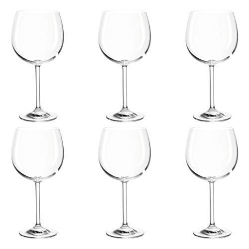 Montana: :Pure Bordeauxglas, 6er Set, Rotweinglas, Weinglas, Weinkelch, Rotwein, Glas, 230 ml, 042433