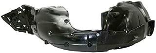 Partomotive For 16-19 Civic Coupe & Sedan Front Splash Shield Inner Fender Liner Driver Side