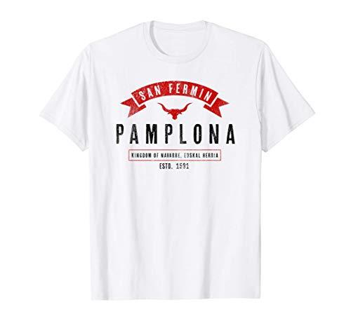 Basque: Pamplona Shirt / San Fermin Camiseta