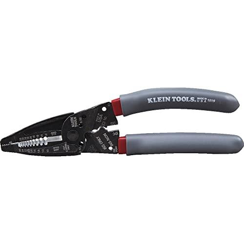 Klein Tools 1019 Klein Kurve Wire Stripper / Crimper / Cutter for B and IDC Connectors, Terminals,...