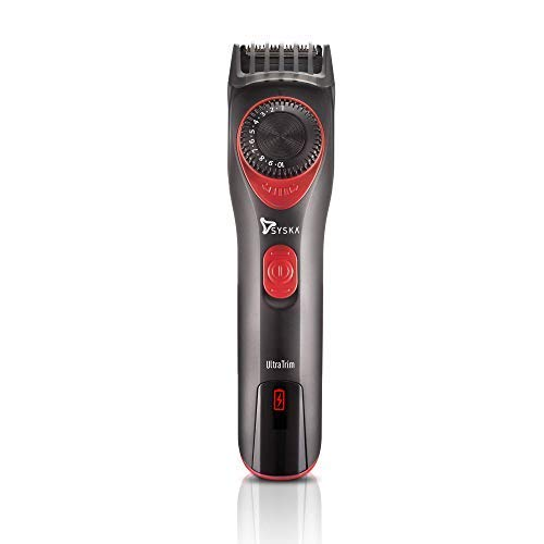 Syska UltraTrim HT700 Beard Trimmer (Black and Red)