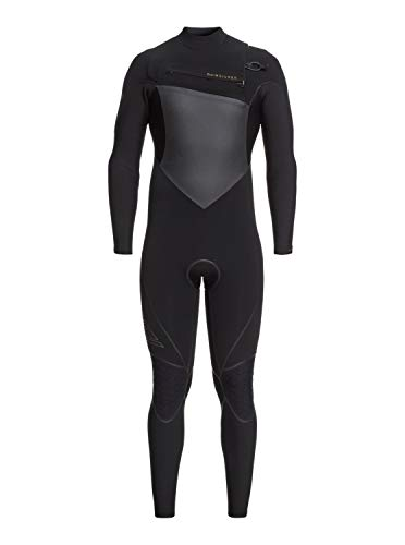Quiksilver Mens 4/3Mm Highline Plus - Chest Zip Wetsuit for Men Chest Zip Wetsuit