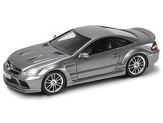 Absolute Hot Models Mercedes-Benz SL65 AMG Serie Negra (2010) en la plata (1:43 escala) Fundido Modelismo Coche
