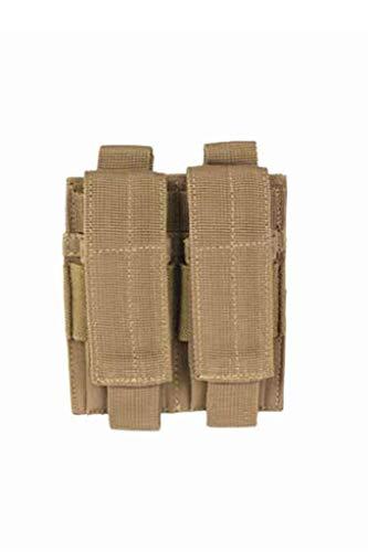 Mil-Tec Mag.Tasche F.Pistole Double Coyote für Herren 11 x 2 x 12 cm Braun Coyote