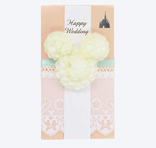 【東京ディズニーリゾート限定】 ミッキーマウス 【花柄】 ご祝儀袋 金封 のし袋 結婚祝い ウェディング