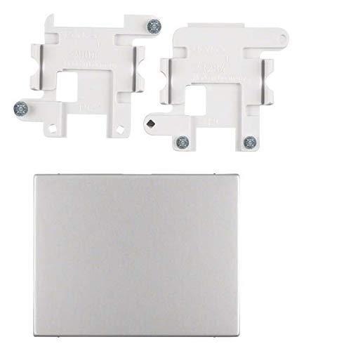 Berker Blindverschluss 75940271 Alu K.1;K.5;KNX - SYSTEMGERÄTE Einsatz/Abdeckung für Kommunikationstechnik 4011334384649