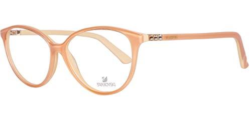 Swarovski SK5136 53044 Brille SK5136 53044 Cateye Brillengestelle 56, Orange