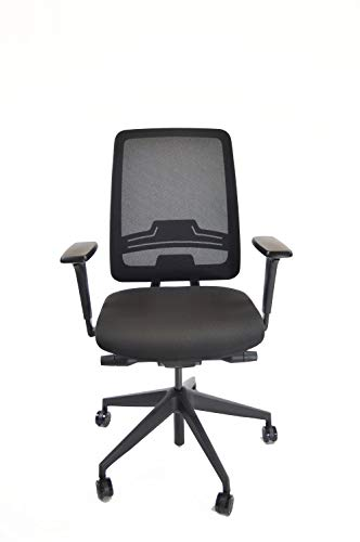 Custom Solutions | Home Office Ergonomic Desk Chair | USA Made Office Chair | Ergonomic Adjustable Seat | Lumbar Support (Without Headrest)