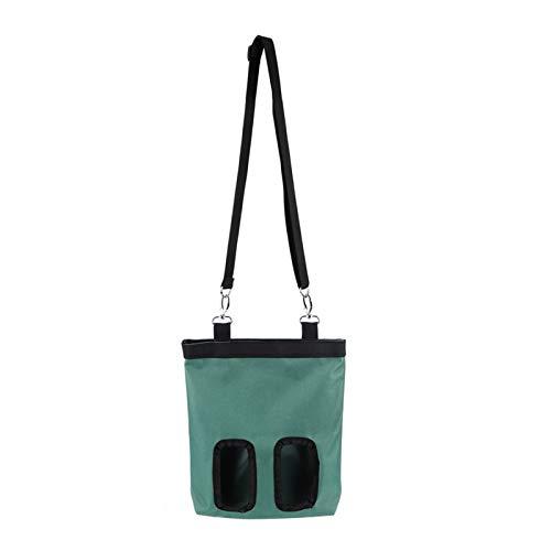 Bolsa de alimentador de conejo 600D Tela Oxford Mini dispositivo de alimentación colgante Accesorio Suministros para mascotas Bolsa de tela Alimentador de tazón de alimentos Bolsa de almacenamiento pa