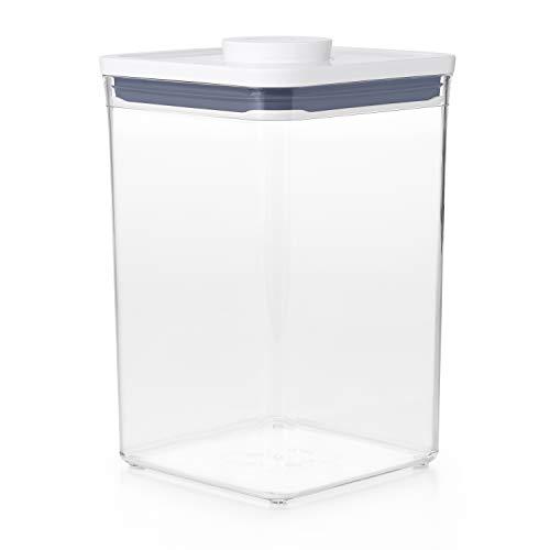 OXO Good Grips POP Contenedor – Almacenamiento hermético y apilable de alimentos - 4,2 l para harina y mucho más