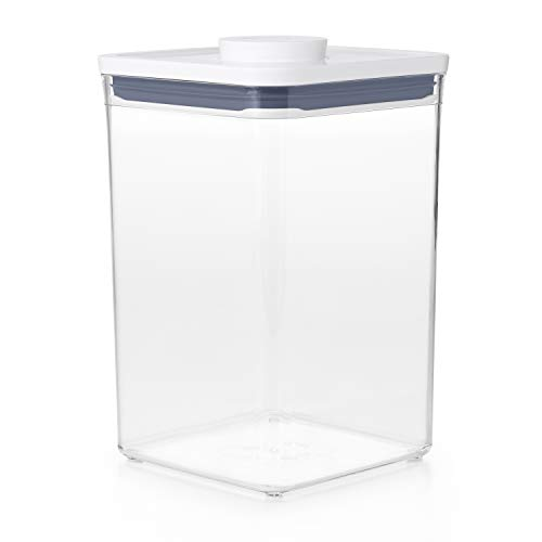 OXO Good Grips POP Container Update, Airtight, Stackable Food Storage for Flour and More, 4.2 Litre, Transparent, 11233500UK